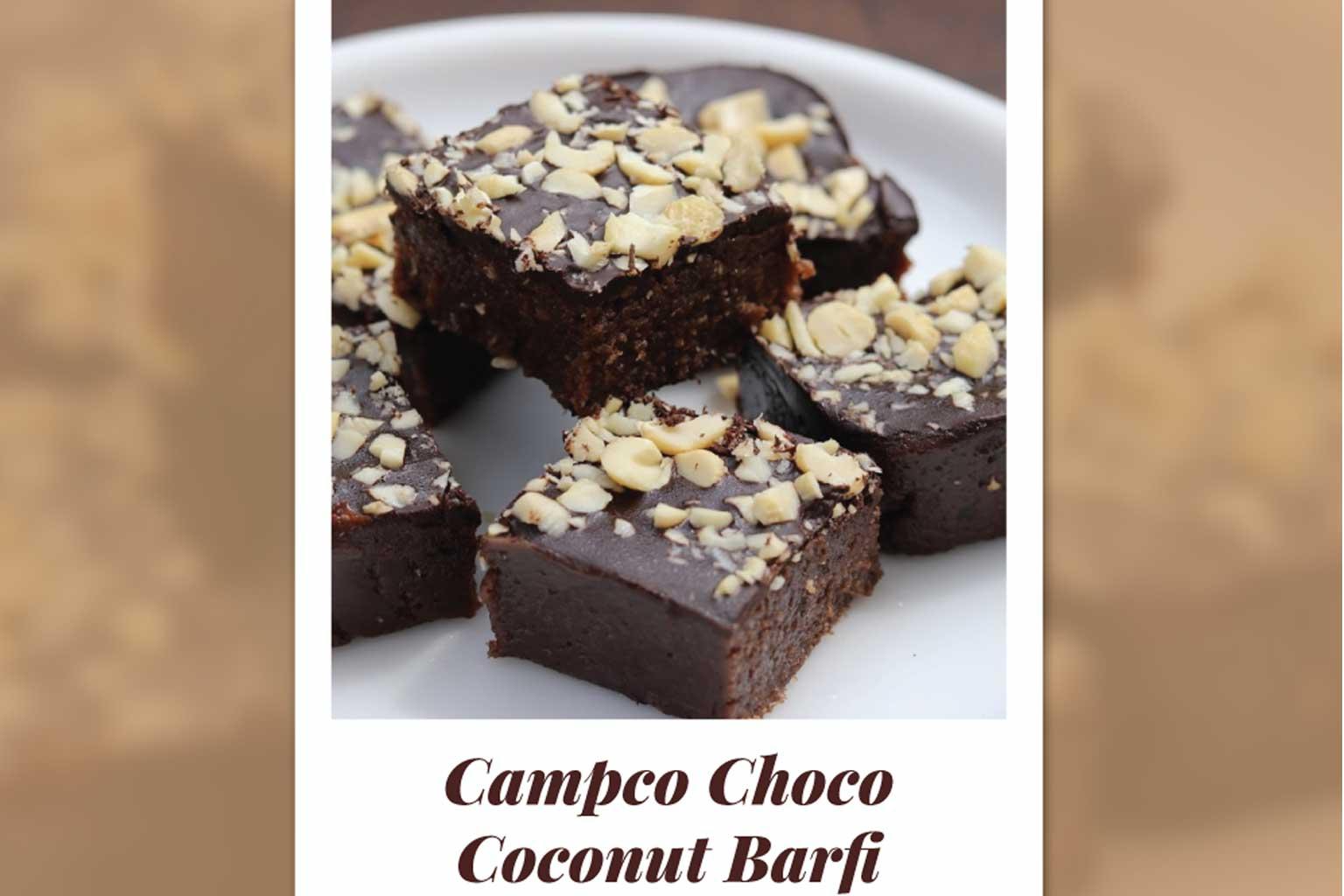 campco choco coconut barfi