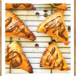 Samosa with Chocolate Filling